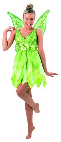 nker Bell Adult, M, hellgrün (Tinkerbell Peter Pan Kostüme)