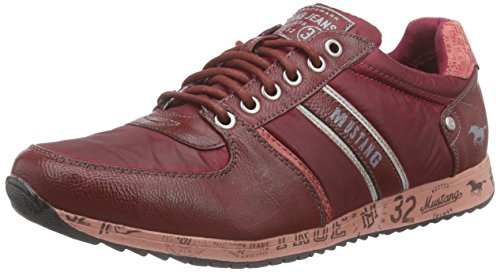 Mustang 4104-301 Herren Low-Top Rot (57 weinrot)