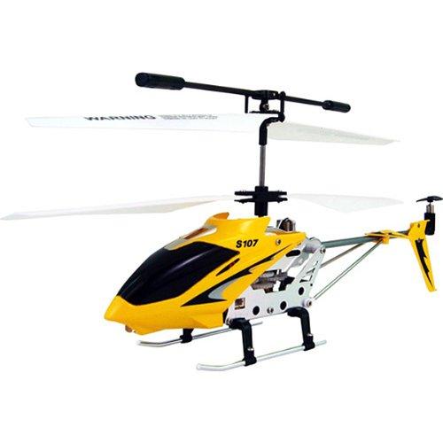 Syma S107G R / C Helicóptero teledirigido para interiores, color amarillo