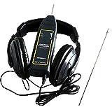 GQMG Stetoscopio per guasti automobilistici, Motore elettronico del Suono, Meccanico, rilevatore di guasti per Auto, Volume Regolabile (Nero)