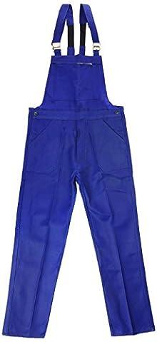 L'Ideal 120030CR4 Salopette de travail Bleu Bugatti Taille 46