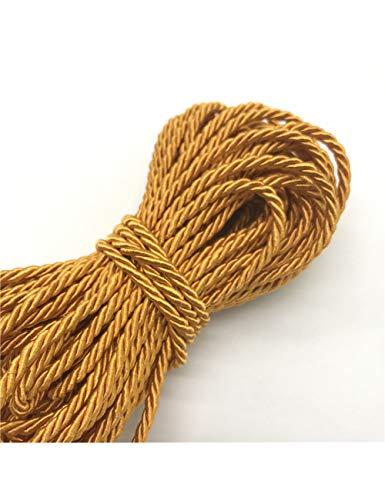 HYZKJ Seil 10 Meter Sicherheitsleinen Seil 3Mm 3-Strang Polypropylen Seil Zubehör Einrichtungsgegenstände Seil Für Armband