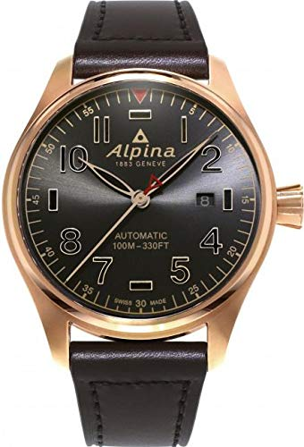 Alpina Startimer Pilot Herren-Armbanduhr 44mm Automatik AL-525GG4S4