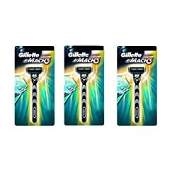 Gillette Mach3 Shaving Razor - 3 Blades (pack of 3)