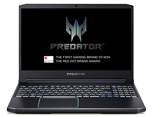 Acer Predator Helios 300 PH315-52 15.6-inch Gaming Laptop - (Intel Core i5-9300H, 8GB RAM, 256GB SSD and 1TB HDD, Nvidia GeForce GTX 1660Ti, Full HD 144Hz Display, Windows 10, Black)