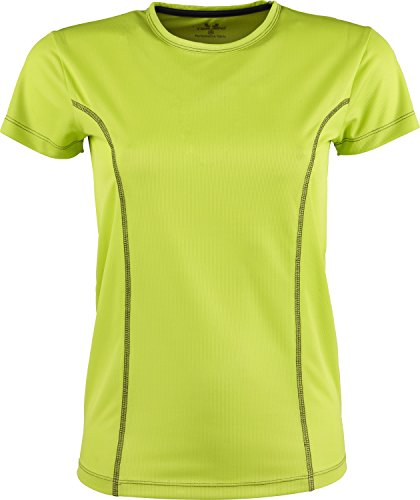 Tee Jays Ladies Sport Performance T-Shirt mit Kontrastnähten 7006, Größe:M;Farbe:Lime