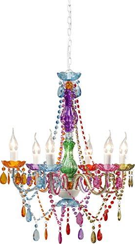 Kare design - Lustre starlight multicolore 6-branches