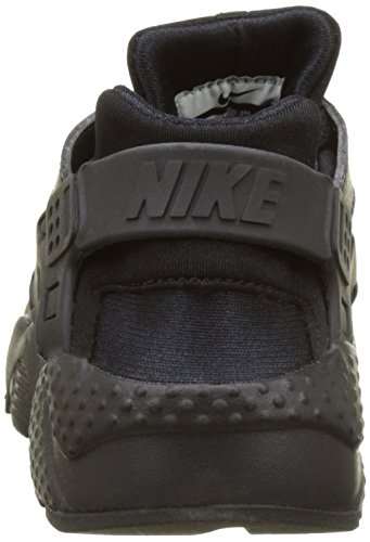 Nike Unisex-Kinder Huarache Run (Gs) Shoe Low-Top Schwarz (016 BLACK/BLACK-BLACK)