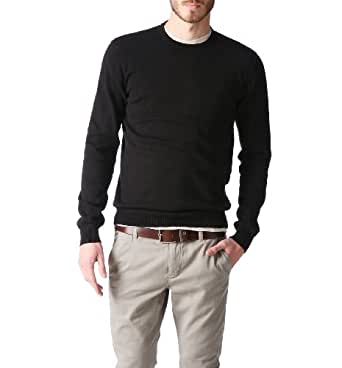 Promod Pull col rond Homme Noir M