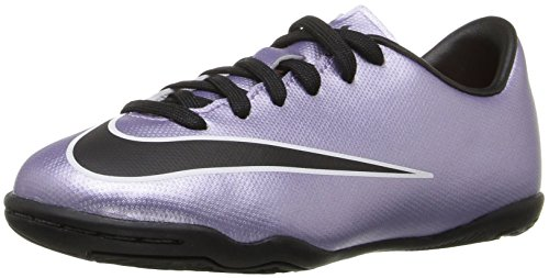 Nike Mercurial Victory V Ic, Scarpe da Calcio Unisex – Bambini Argento (Silber (Urbn Lilac/Blk-Brght Mng-White 580))