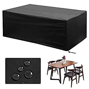 gartenm bel abdeckung nasharia abdeckhaube atmungsaktiv f r gartenm bel wasserdichte. Black Bedroom Furniture Sets. Home Design Ideas