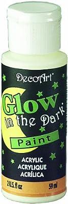 DecoArt 59 ml Glow In The Dark Medium from DecoArt