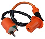 shamofeng Ignition Coil For GY6 125 150 2 Pins Scooter 50cc 70cc 125cc 150cc