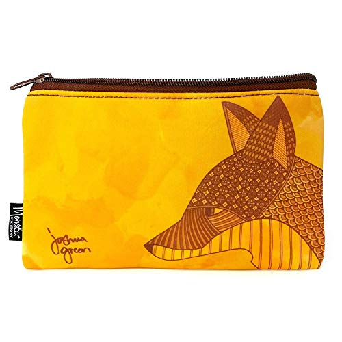 (Fox) - Monster Stationery - Single-Pocket Neoprene Pencil Case - Joshua Green Design - Fox Mas Accessory Pocket