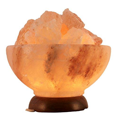 Salz Kristall Stein Lampe
