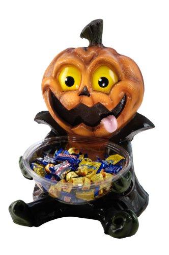 Kürbis Bonbon-Schale Halloween - (Bonbons Halloween)