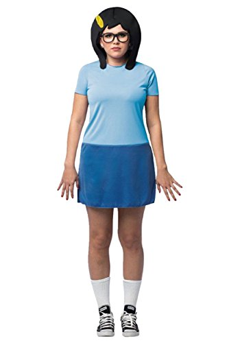 Rasta Imposta Tina Bob's Burgers Adult Costume One Size (Bob Bob's Burger Kostüm)