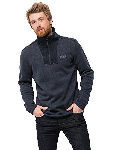 Jack Walfskin Herren Scandic Pullover Men Hemd, Night Blue, XL