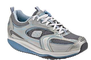 Skechers Shape-Ups Xf Accelerators - Zapatillas, color Silver / Blue, talla 39 (B00K01VG0W) | Amazon price tracker / tracking, Amazon price history charts, Amazon price watches, Amazon price drop alerts