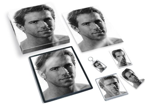 ryan-reynolds-original-art-gift-set-js001-includes-a4-canvas-a4-print-coaster-fridge-magnet-keyring-