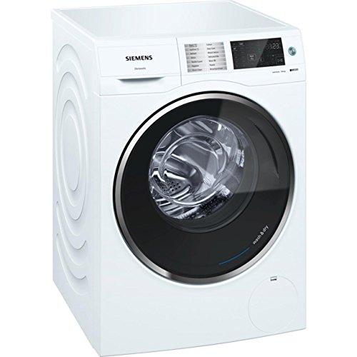 Siemens WD14U520GB Freestanding Washer Dryer in White