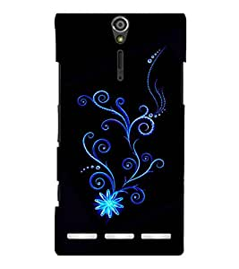 printtech Pattern Fantasy Back Case Cover for Sony Xperia S Lt26i