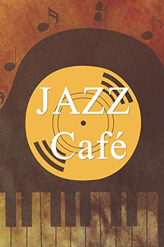 Jazz Café: Blank Lined Notebook ( Jazz ) Orange