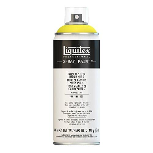Liquitex Professional - Acrílico en spray, 400ml, amarillo de cadmio medio (imit.)...
