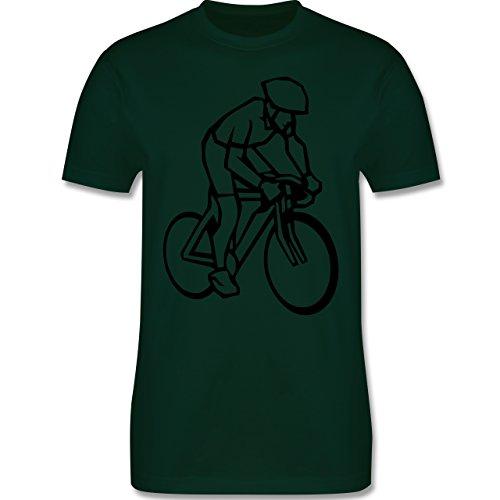 Radsport - Radsport - Herren Premium T-Shirt Dunkelgrün