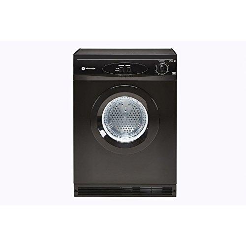 White Knight C44AB 6kg Freestanding Vented Tumble Dryer - Black