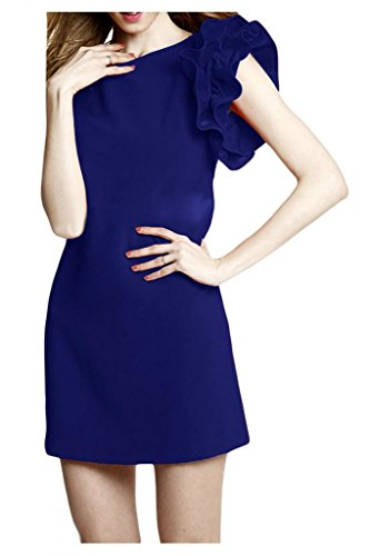 Sunvary spalle, con parte posteriore aperta, in Chiffon, e paillettes, per damigella d'onore, Prom Dress-Gowns Burgundy