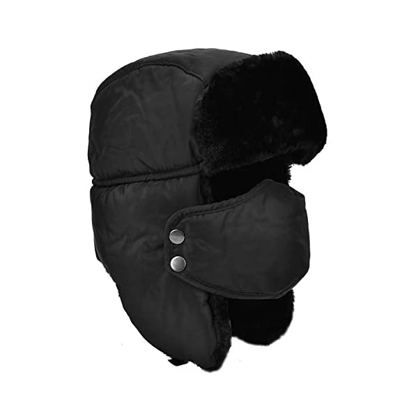 Unisex Winter Ear Flap, Trooper, Trapper, Bomber Hat, Keeping Warm While Skating, Skiing or Other Outdoor Activities 1