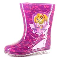 Paw Patrol Skye Girls Synthetic Material Wellies Pink