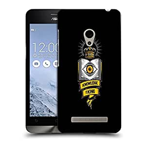 Snoogg Knowledge Is King Designer Protective Back Case Cover For ASUS ZENFONE 5