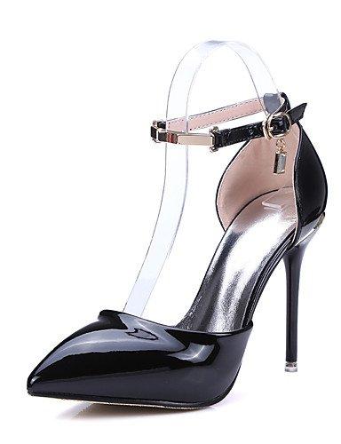 WSS 2016 Chaussures Femme-Bureau & Travail / Décontracté-Noir / Rouge / Blanc-Talon Aiguille-Talons / A Plateau / Confort / Bout Pointu-Talons- white-us6.5-7 / eu37 / uk4.5-5 / cn37