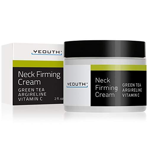 YEOUTH Crema de cuello reafirmante y antienvejecimiento, crema hidratante,...