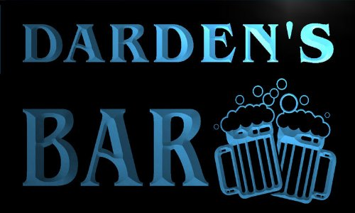 w002623-b-darden-name-home-bar-pub-beer-mugs-cheers-neon-light-sign