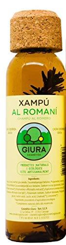 Rosmarin Schuppen Shampoo gegen fettiges Haar, aus Mittelmeer 250ml