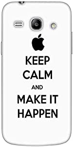 Snoogg Make It Happen Designer Protective Back Case Cover For Samsung Galaxy ...