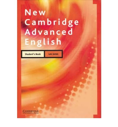 [(New Cambridge Advanced English Student's Book)] [Author: Leo Jones] published on (November, 2004)
