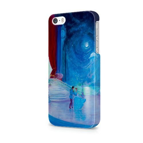 iPhone 5/5S/SE coque, Bretfly Nelson® COLDPLAY Série Plastique Snap-On coque Peau Cover pour iPhone 5/5S/SE KOOHOFD918847 CINDERELLA - 025