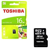 Toshiba 16GB Microsd Memory Card with 5years Replacement