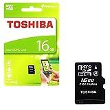 #7: Toshiba 16GB MicroSD Memory Card (THN-M102 CL4 16GB)