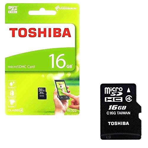 Toshiba 16GB Micro SD Memory Card