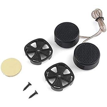 7thLake 1 Paar 500 Watt Auto Audio Super Power Laute Dome Stereo Hocht/öner Lautsprecher F/ür Auto