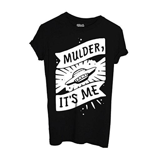 T-Shirt MULDER IT'S ME X-FILES - FILM by Mush Dress Your Style - Donna-S-Nera