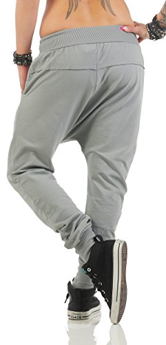 ZARMEXX Fashion -  Pantaloni  - relaxed - Donna Grigio chiaro