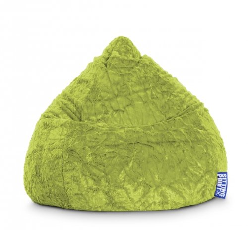SITTING POINT only by MAGMA Sitzsack Fluffy XL ca. 220 Liter grün