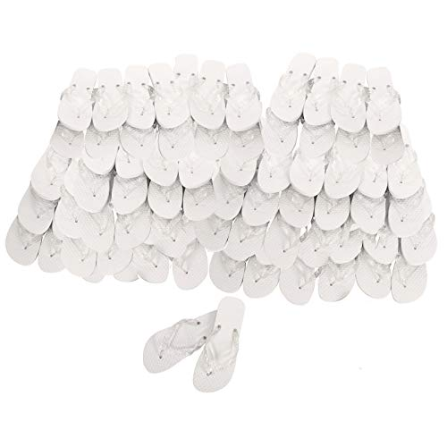 Lote 20 Chanclas Blancas