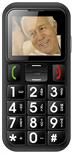 Denver Handy Seniorenhandy Grosstastentelefon Telefon vertragsfrei Dual SIM W60